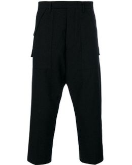 Drop Crotch Tailored Trousers