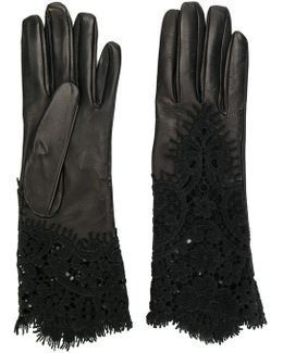 Lace Insert Gloves