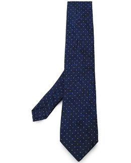 Paisley Pattern Dotted Tie