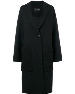 Contrast Pocket Coat