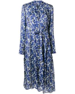 Paisley Floral Print Dress