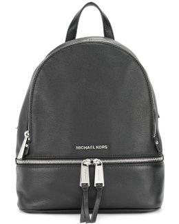 Multi-zips Backpack
