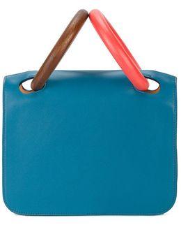 Neneh Bamboo Handle Bag
