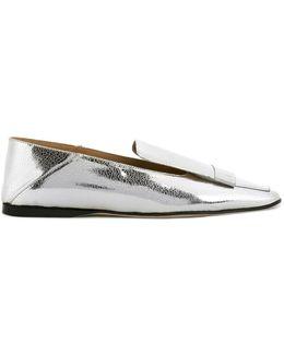 Metallic (grey) Slippers