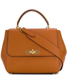 B Turn Top Handle Bag
