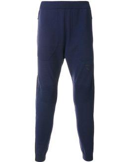 Ribbed Detail Sweatpants