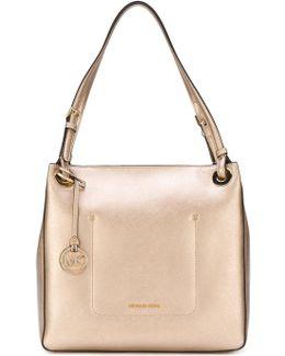 Zipped Square Shoulder Bag