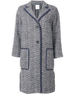 Woven Single Breasted Coat