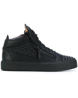 Kriss Pyramid Hi-top Sneakers