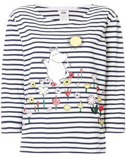 Moomin Garden Print T-shirt
