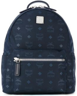 Small Dieter Monogrammed Backpack