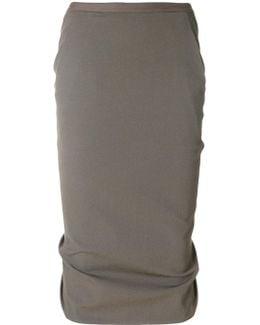 Pillar Pencil Skirt