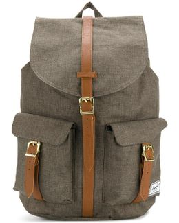 Front Pockets Flappy Backpack
