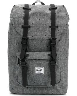 Double Straps Dotted Backpack
