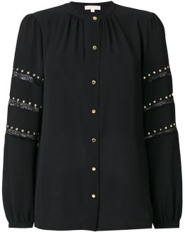 Stud Embroidered Blouse