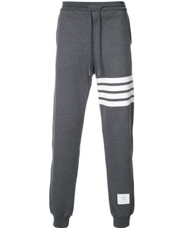 Sweatpant With Engineered 4-bar Stripe