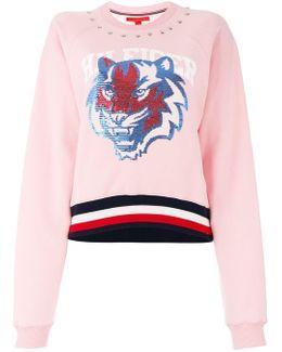 Tiger Printed Sweatshirt