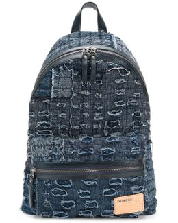 Distressed Effect Backpack