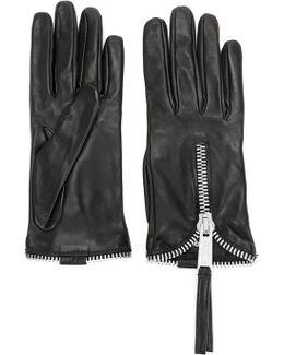 Zipped Gloves
