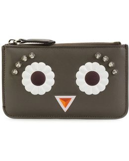 Faces Keyring Pouch