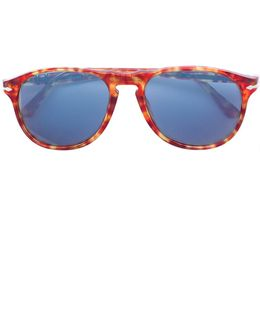Contrast Colour Sunglasses