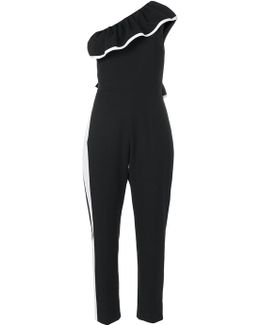 One Shoulder Jumpsuit