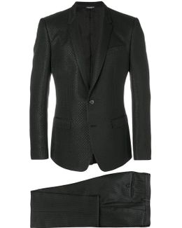 Textured Two Piece Formal Suit