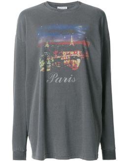 Paris Print Sweatshirt