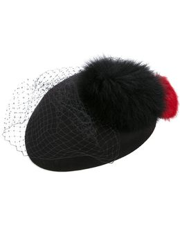 Fur And Net Hat