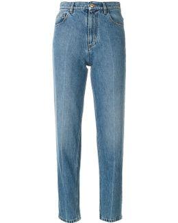 Sporty Chic Denim Jeans