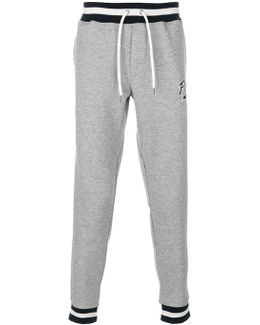 Striped Waistband Sweatpants