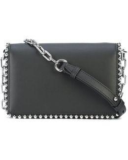Studded Chain Shoulder Bag