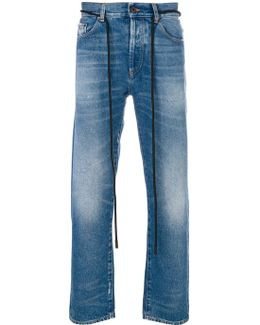 Diagonals Skinny Jeans
