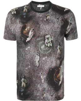 Paisley Astronaut T-shirt