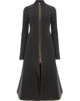 Flared Zip Coat