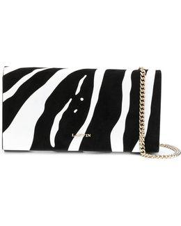 Zebra Pattern Clutch