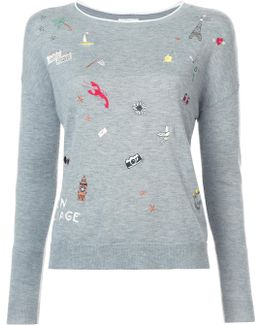 Eloisa Embroidered Sweater