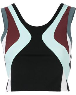 Cropped Fitness Tank Top
