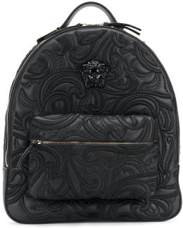 Baroque Embroidered Backpack