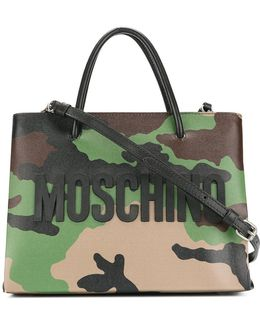 Camouflage Cross-body Bag
