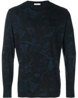 Constellations Print Longsleeved T-shirt