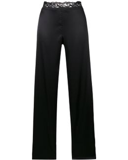 Laced Waistband Trousers