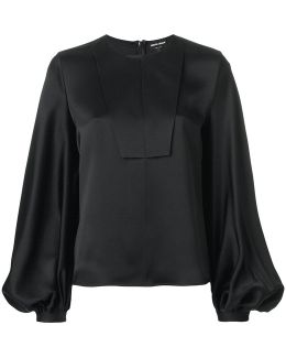 Puffy Longsleeves Blouse