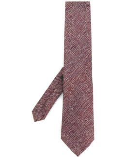 Blurry Stripes Knitted Tie
