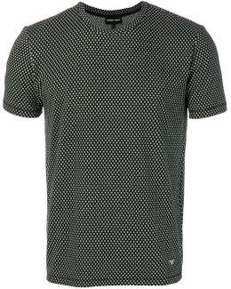 Intarsia Knit T-shirt