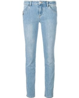 Safety Pin Slim Jeans