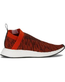 Red Leopard Nmd Cs2 Primeknit Trainers