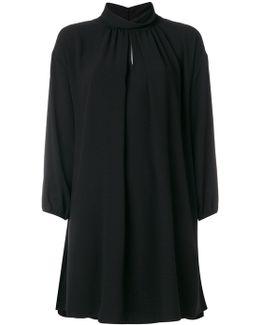 Roll Neck Short Dress