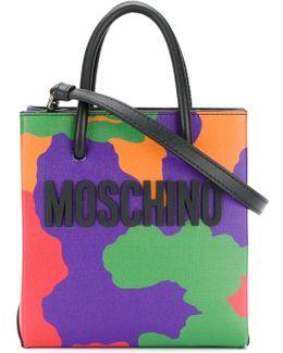 Logo Camouflage Shoulder Bag