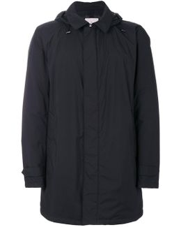 Padded Lining Hooded Coat